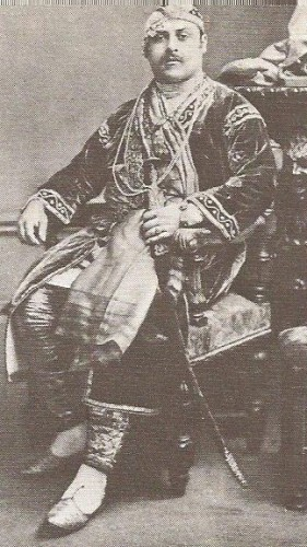 Prince Victor Duleep Singh at the Devonshire House Ball