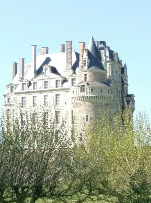 Chateau de Brissac on the Loire River