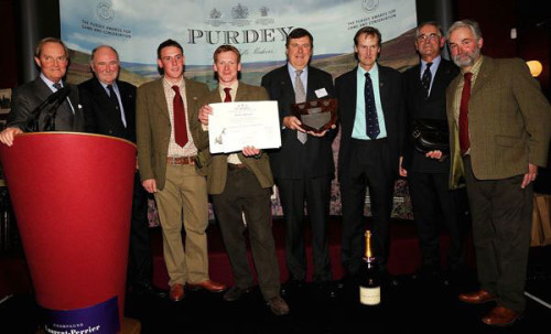 The 2010 Purdey Award won by The Arundel Estate and the Duke of Norfolk