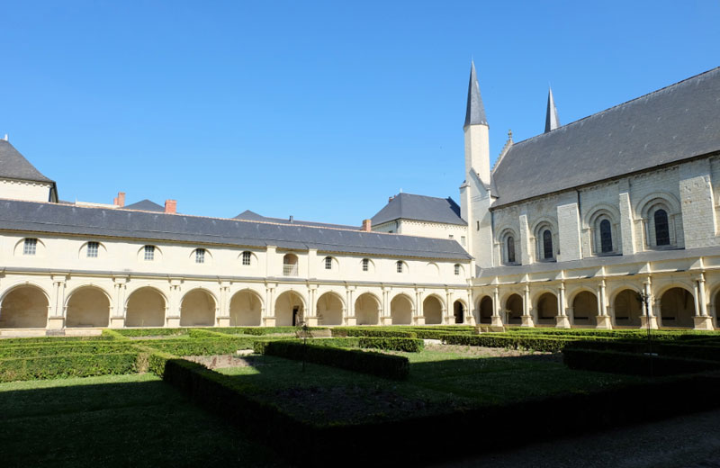 Fontevraud Abbey in the Loire Valley