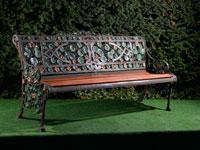 A-Coalbrookdale-Nasturtium-pattern-cast-iron-seat