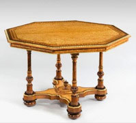 Wick Antiques A-Hungarian-ash-table,-attributed-to-Holland-&-Sons,-c1860.-£42,000