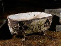 A-cast-iron-bath