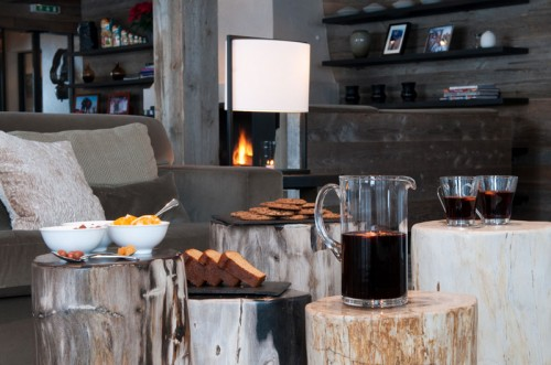 Afternoon tea at The Lodge Verbier
