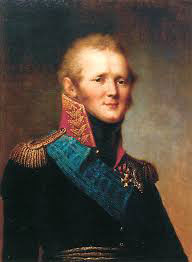 Alexander 1st of Russia (grandson to Catherine the Great