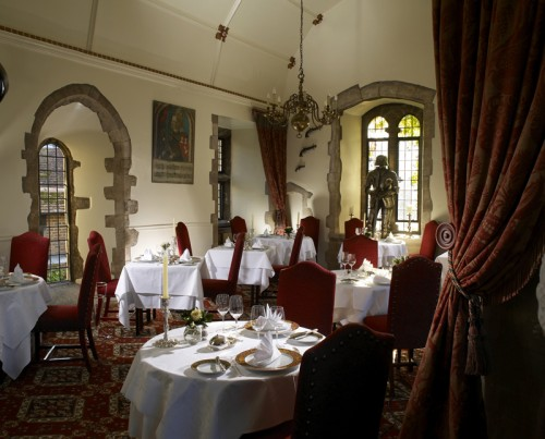 Amberley Castle Dining Room