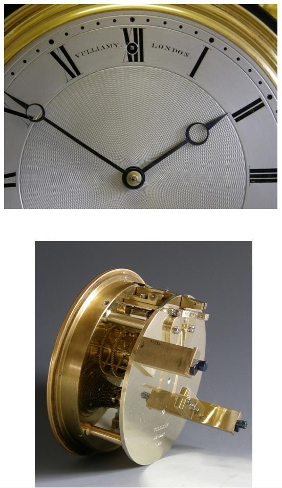 An Imposing English Mantel Timepiece