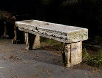 An-unusual-carved-sandstone-water-table