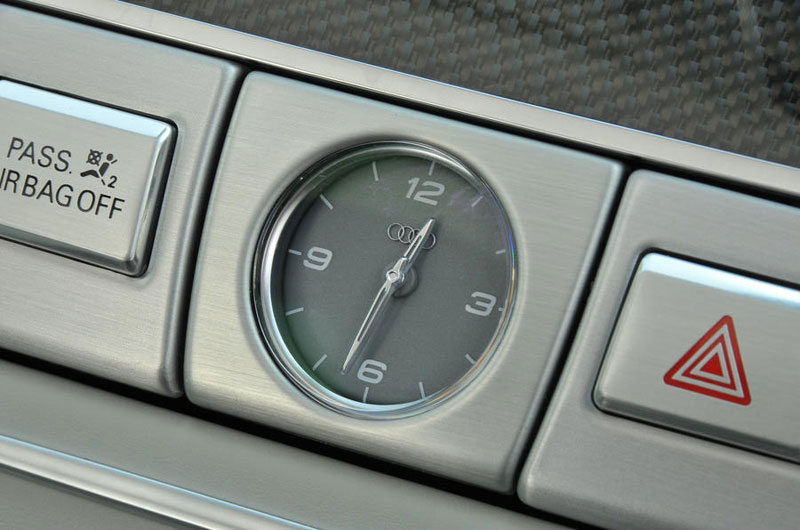 Audi S8 Sport Analogue clock