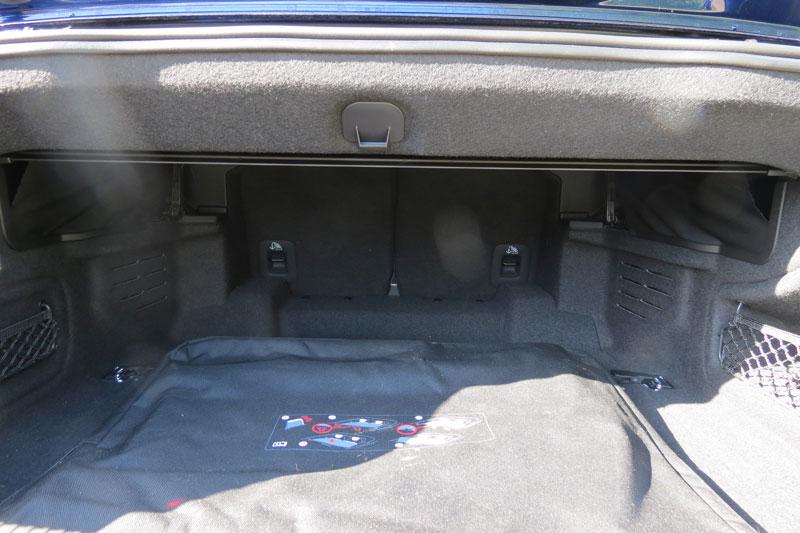Audi S5 Cabriole Boot