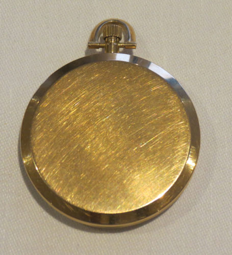 Back O Vacheron and Constantin Ultra Slim Pocket Watch