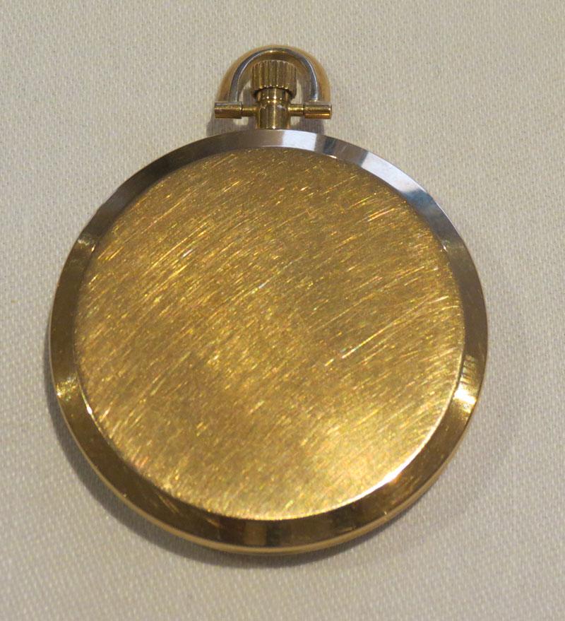 Back O Vacheron and Constantin Ultra Slim Pocket Watch