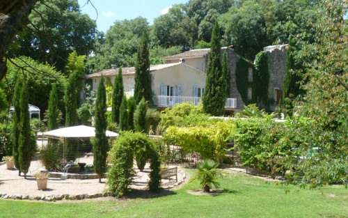 Bastide de la riviere and the olive house