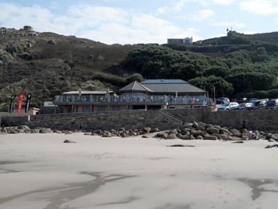 Beach Restaurant Sennen Cove Cornwall