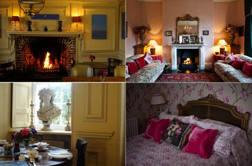 Bedroom and Public Rooms at The Abbey Hotel Penzance Cornwall