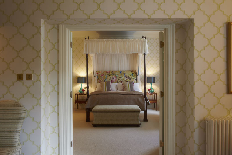Bedroom at The Vineyard Stockcross