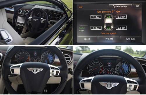 Bentley Continental GT W12 interior details