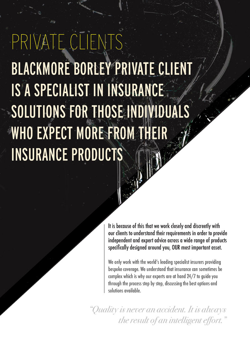 Blackmore Borley Private Client Flyer