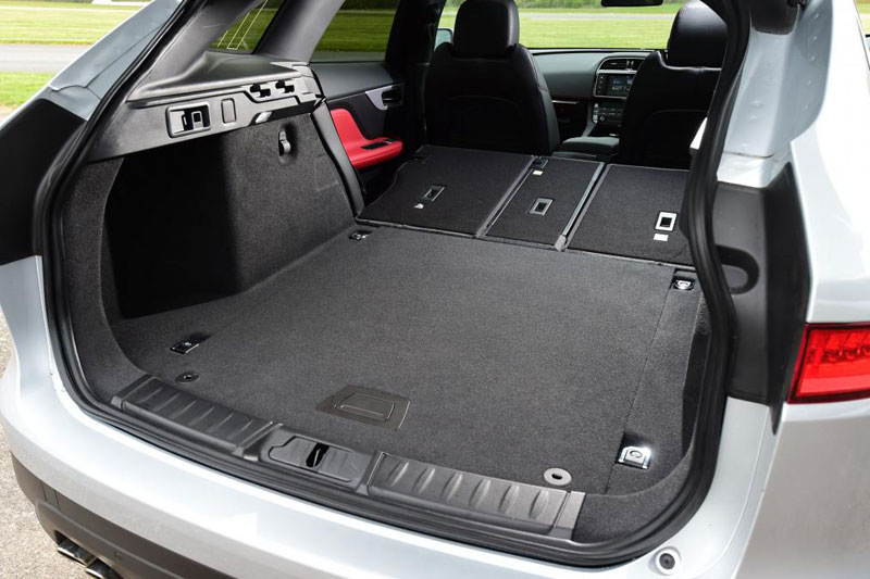 Jaguar F Pace R Sport 2.0d 180PS AWD Spacious Boot Space with Back Seats Folded