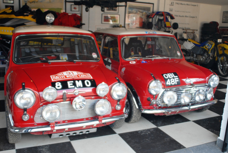 Brace of Abingdon Competition Mini Cooper S 1963