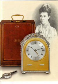 Abraham Louis Breguet - Silver Hump Back Carriage Clock