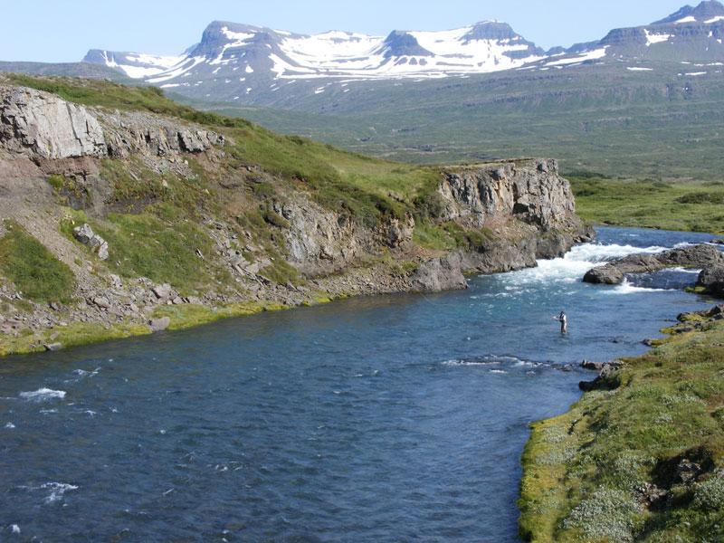 Breiðdalsá in Iceland
