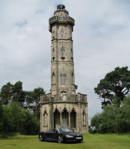 Brizlee Tower in Hulne Park Alnwick
