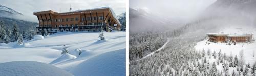 Bugaboos Lodge in British Columbia Canada CMH Heli-skiing