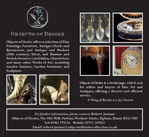 Objects of Desire Advertisement