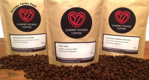 Cherry Picked Coffee Artisan Taster Pack