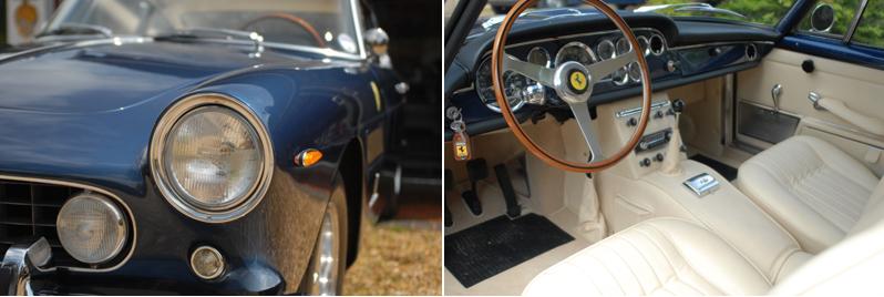 Chiaro Blue Ferrari 250 GT 2+2-GTE 1963