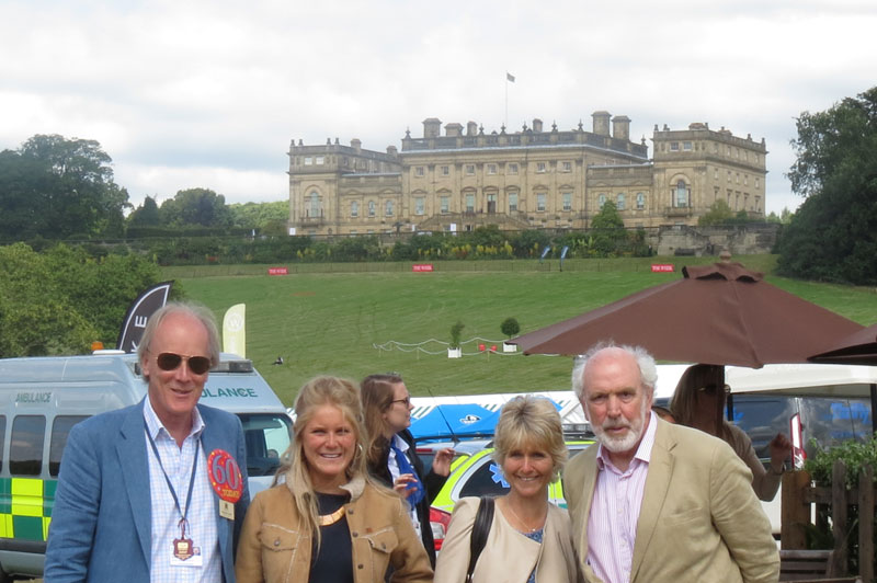 Christopher-Ussher,-Daisy-Ussher,Sarah-Ussher-and-Robert-Jarman-at-the-Game-Fair-held-at-Harewood-House
