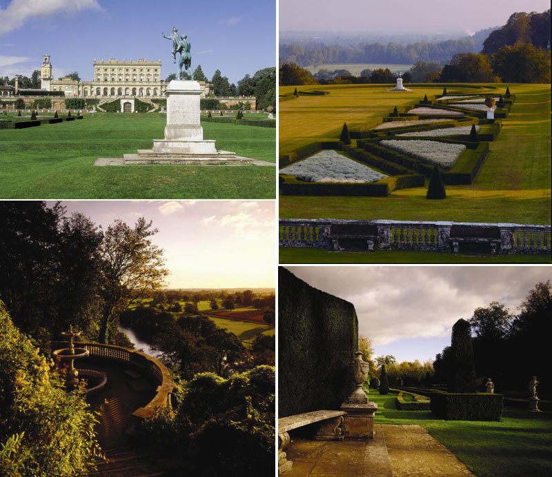 376 acres of grounds at Cliveden