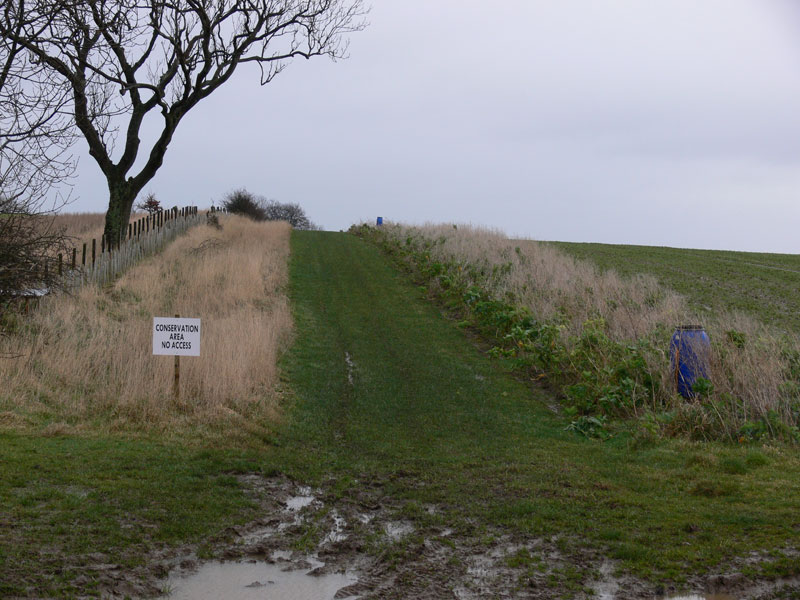 Conservation Area protected by restricting access to public