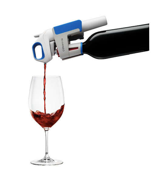 Coravin Wine Pourer - sample wine without opening bottle