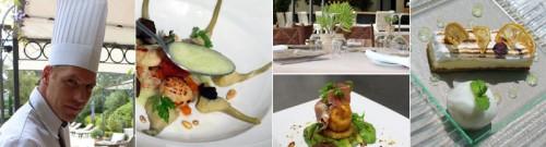 Cuisine at Le Mas de Chastelas