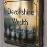Devonshire Wealth Management Brass Plate