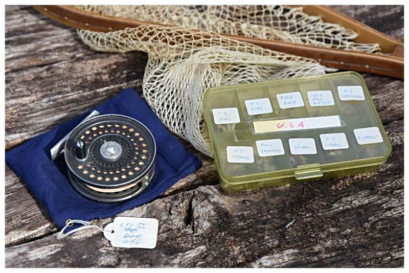 Dermot Wilson fishing items