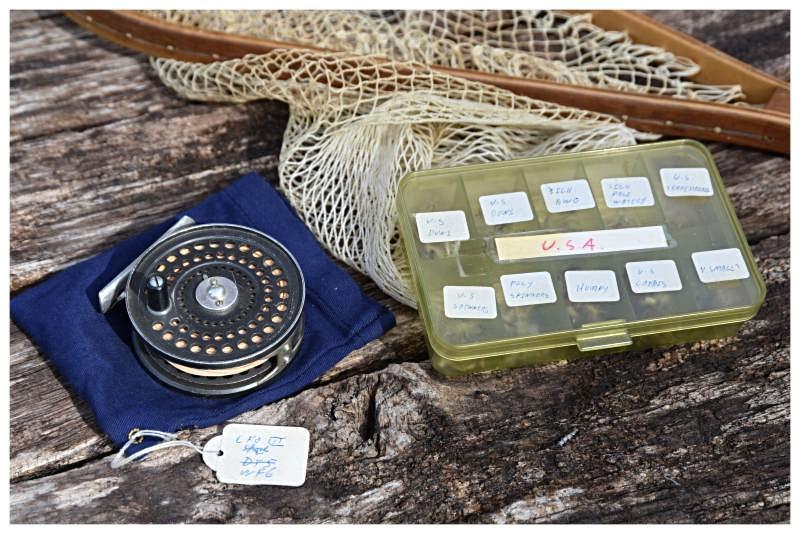 Dermot Wilson fishing items