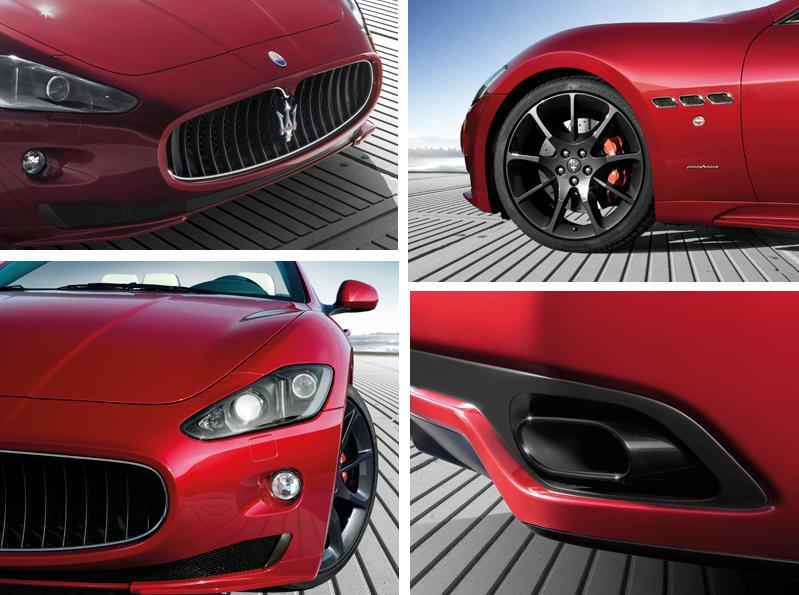 Design Details of Maserati Grancabrio Sport