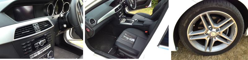Detail images of Mercedes C Class Diesel Estate