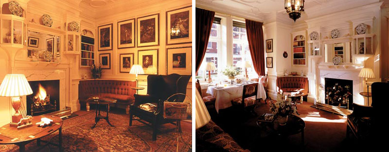 Draycott Hotel Library Room