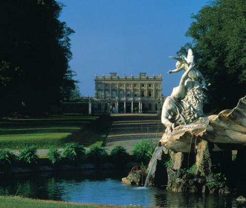 Drive leading to Cliveden from The Fountain of Love