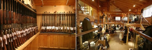 E J Churchill's Gun Room and Clothing and Assessories Shop