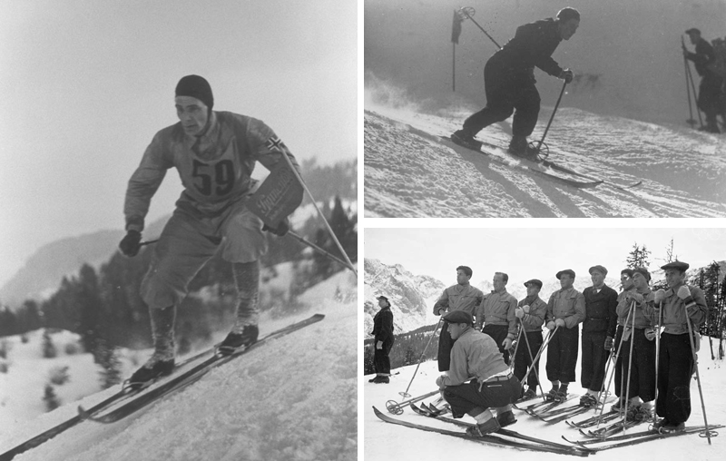 Early Alpine Skiers