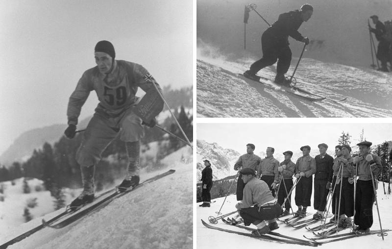 Early Alpine Skiers