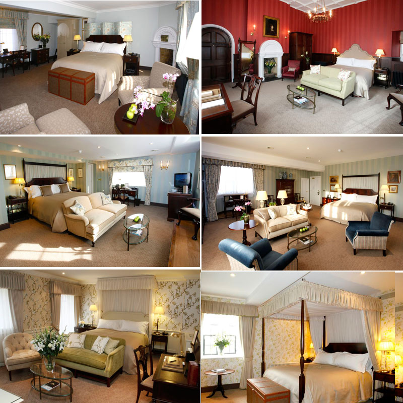 Ellenborough Park's Sumptious Bedrooms