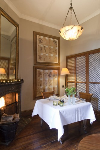 Endsleigh Hotel Private Dining Room