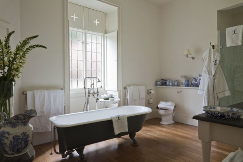 Endsleigh Hotel Suite 1 bathroom