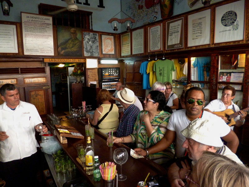 Enjoy mohitos at the Hemingway haunt